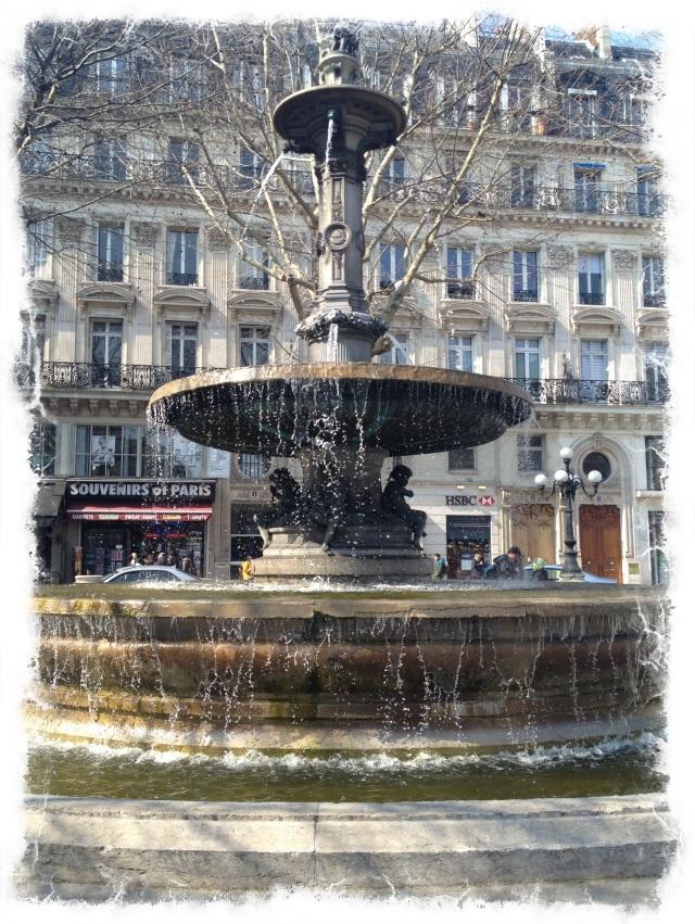 Fountain Paris