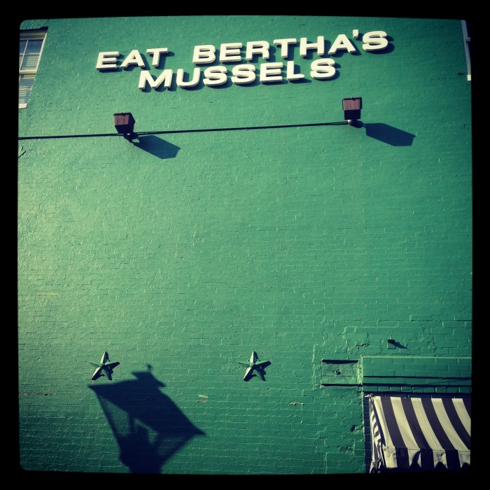Eat Bertha's Mussels